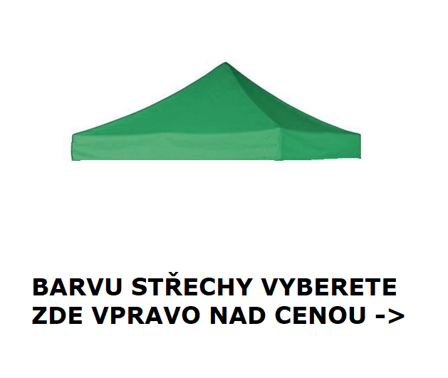 STŘECHA NA STAN 4x6 BIG HEXAGON