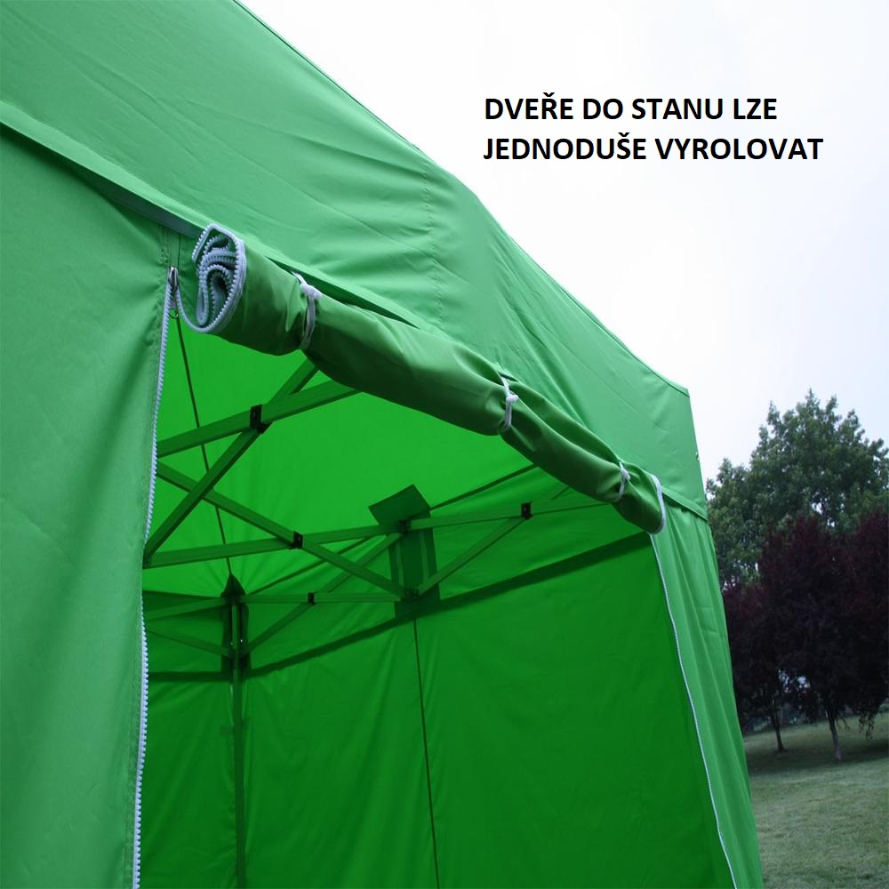 NŮŽKOVÝ PARTY STAN 3x6 m/6 noh TENTino SMALL HEXAGON