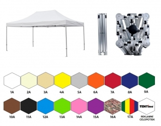 NŮŽKOVÝ PARTY STAN 3x6 m /4 nohy TENTino BIG HEXAGON